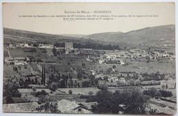2 CARTES - ENVIRONS DE MACON ET VUE GÉNÉRALE - BUSSIÈRES - Otros Municipios