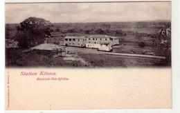 42720 Ak Deutsch Ostafrika Station Kilossa Um 1910 - Ehemalige Dt. Kolonien