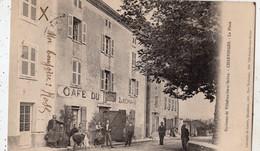 ENVIRONS DE VILLEFRANCHE-SUR-SAONE CHERVINGES LA PLACE (CARTE PRECURSEUR ) - Other Municipalities