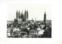 Lot De 5 Photos N & B De TOURNAI (Belgique) - Années 50 Ou 60 Probables... - Places