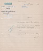 17 FOURAS-LES-BAINS CHEZ LEON HOTEL RESTAURANT - 1900 – 1949