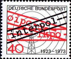 RFA Poste N** Yv: 609 Mi:759 Interpol 50 Jahre - Ongebruikt
