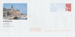 PAP LUQUET NEUF - PARIS CONCIERGERIE - PAP: Aufdrucke/Luquet