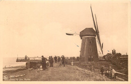 Belgique - Doel - Zicht Op Den Molen - Beveren-Waas
