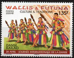 Wallis Et Futuna 2020 - La Danse Kailao - Neuf // Mnh - Unused Stamps