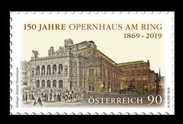 Austria 2019 Mih. 3450 Opera House Vienna State Opera MNH ** - 2011-... Unused Stamps
