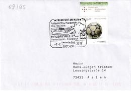 Germany 2016 Cover: Football Fussball Soccer Calcio; UEFA EURO 2016 France; Paris: 1/2 Finale Germany France; Marseille - Eurocopa (UEFA)