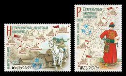 Belarus 2020 Mih. 1339/40 Europa. Ancient Postal Routes MNH ** - Belarus