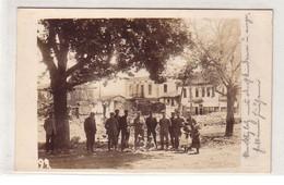 52638 Foto Ak Ungarn Marktplatz Und Kirche Mit Zerstörungen Im 1. Weltkrieg - Hongarije