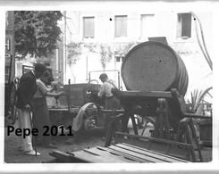 Négatif Photo Sur Plaque De Verre - Atelier Mécanique - Garage - Réparation De Voiture Années 1930...Beau Plan Animé - Diapositiva Su Vetro