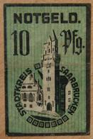 Allemagne - Sarrebruck 10 Pfennig 25-11-1919 - [ 8] Saarland - Saar