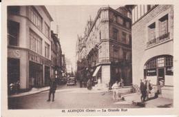 CPA ALENCON LA GRANDE RUE - Alencon