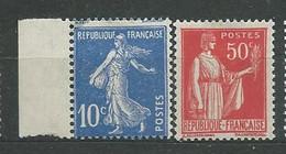FRANCE N° 279+283 **TB 1 - Ungebraucht