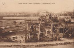 Le Coq-De Haan-Clemskerke-Canon De Batterie Allemand1918 - De Haan