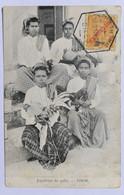 """C. P. A. : TIMOR : Jogadores Do Gallo, Selo """"Timor"""", En 1917 - East Timor"""