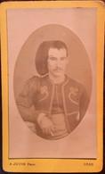 Algérie, Photo - Carte De Visite,CDV Du Soldat Blazy,  Photographe Agricole.Jouve à Oran De 1886 Et 1889; - Antiche (ante 1900)