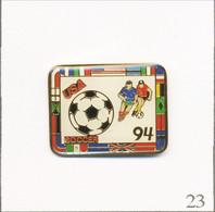 Pin's Sport - Football / Association Des Supporters Pour La Coupe Du Monde USA 1994. Non Estampillé. Epoxy. T762-23 - Football