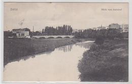 56444 Ak Zeitz Blick Vom Bahnhof Um 1910 - Sin Clasificación