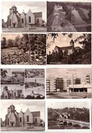 57243/8 Ak Zeitz Stadtteil Völkerschlacht, Friedensplatz Usw. Um 1970 - Sin Clasificación