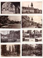 57252/8 Ak Zeitz Leninstrasse, Schwanenteich, Rathaus Usw. Um 1910 - Sin Clasificación