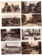 57255/8 Ak Zeitz Kulturpark, Wendischerberg, Sommerbad Usw. Um 1960 - Sin Clasificación