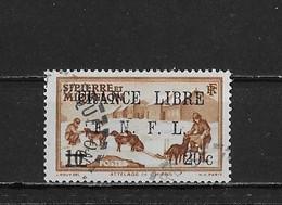Saint Pierre Et Miquelon Yv. 274 O. - Oblitérés