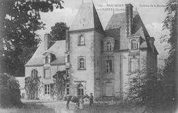 BEAUMONT La CHARTRE - Château De La Borde - Beaumont Sur Sarthe