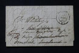 FRANCE - Lettre De Paris Pour Manchester En 1836 Et Redirigé Vers Ormskirk - L 84619 - 1801-1848: Précurseurs XIX