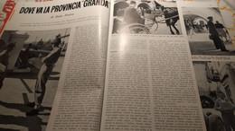 ILLUSTRAZIONE ITALIANA 1954 CUNEO RIONERO IN VULTURE TARANTO - Sin Clasificación