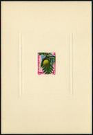 Polynésie épreuves De Luxe N° 13 Flore .Artocarpus - Geschnitten, Drukprobe Und Abarten