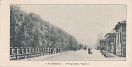 ARCHANGEL - PERSPECTIVE TROISKY (DIM 14 X 7) - Russia