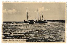 Heist Vissersboten Heyst Les Barques De Peches - Heist