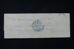 FRANCE - Lettre De Paris Pour Paris En 1842 - L 84628 - 1801-1848: Précurseurs XIX