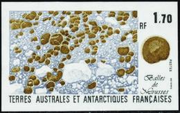Terres Australes Non Dentelés N° 156 1f70 Bals De Mousse** - Geschnitten, Drukprobe Und Abarten