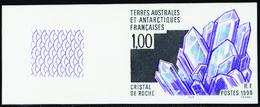 Terres Australes Non Dentelés N° 226 Cristallisation Minérale** - Geschnitten, Drukprobe Und Abarten
