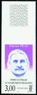 Terres Australes Non Dentelés N° 227 Etienne Peau** - Geschnitten, Drukprobe Und Abarten