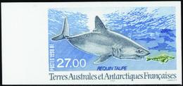 Terres Australes Non Dentelés N° 228 Le Requin Taupe** - Geschnitten, Drukprobe Und Abarten