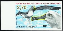 Terres Australes Non Dentelés N° 229 Faune Antarctique** - Geschnitten, Drukprobe Und Abarten