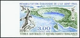Terres Australes Non Dentelés N° 231 Ile Saint-Paul** - Geschnitten, Drukprobe Und Abarten