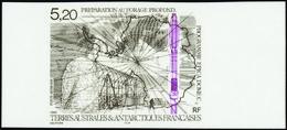 Terres Australes Non Dentelés Poste Aérienne N° 149 Programme EPICA Dôme/C** - Geschnitten, Drukprobe Und Abarten