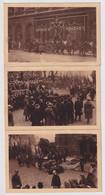 BRUXELLES  6 KAARTEN  DE ONBEKENDE SOLDAAT  11 NOV 1922  2 SCANS - Brüssel (Stadt)