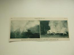 """Origineel Knipsel ( A 534 ) Uit Tijdschrift """" De Stad """"  1932 :  Brand Pompiers  Pompier  Antwerpen - Zonder Classificatie"""
