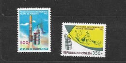 1987 MNH Indonesia, Michel 1220-21  Postfris** - Asia