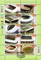 South Africa - 2010 Sports Stadiums Sheet (o) # SG 1797a - 2010 – Zuid-Afrika
