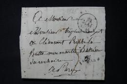 FRANCE - Lettre Pour Paris En 1828 -  L 84646 - 1801-1848: Précurseurs XIX