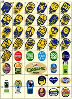 (314) BANANA Fruit Label Sticker Collection ECUADOR PERU Etichette Etiquettes Etiquetas Adhesive Aufkleber Frucht - Frutas Y Legumbres