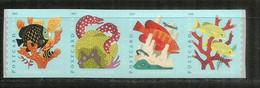 Coral Reefs Stamps  (4 Val) Adhesive, Year 2019 Mint / Neufs ** - Ongebruikt