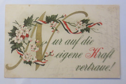Spruch, Kriegslaz. Abt. Bay. Nr. 61 Lazarett B Feldpostst. 403,   1918 ♥ (13906) - Unclassified