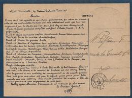 Paris   - Cachet   PARIS XVI * IMPRIMES PP * - 1921-1960: Periodo Moderno