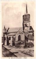 58 MOULINS-ENGILBERT - L'église - Moulin Engilbert
